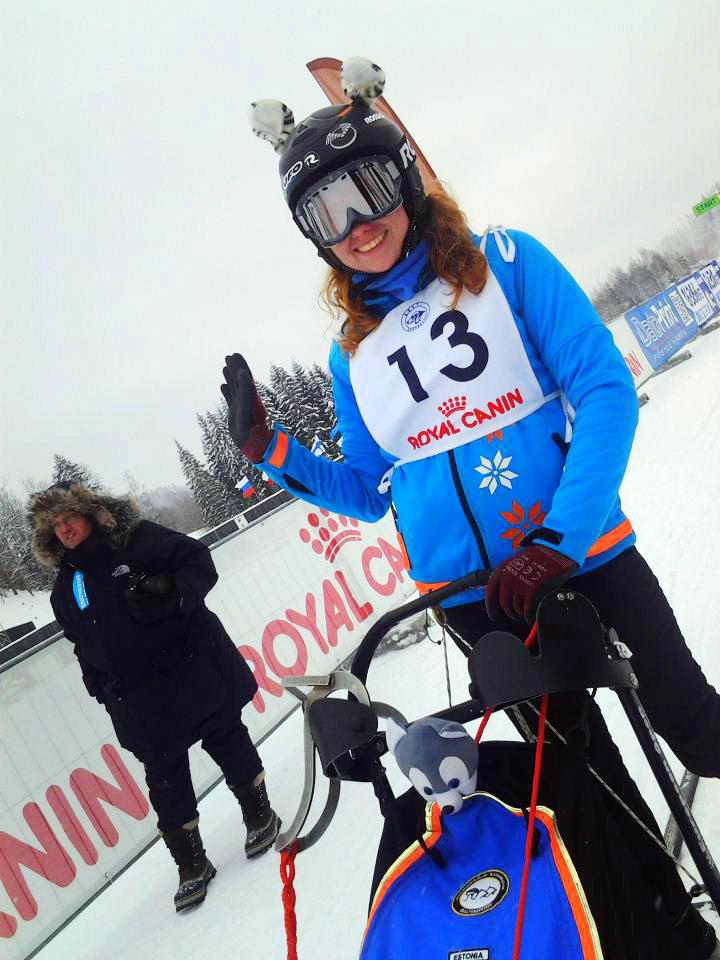 Mariin Kaljula Jälg 2013 stardis. Foto: Erja Bäckman