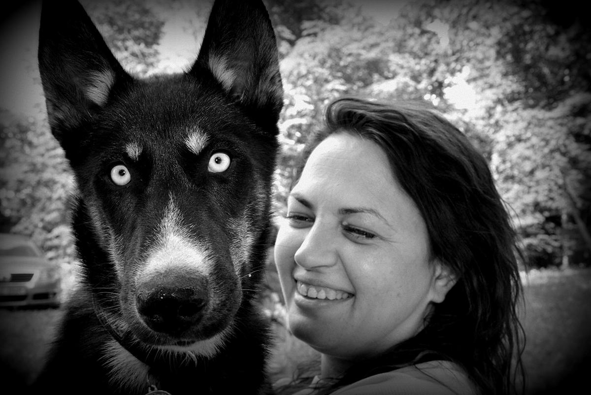 Baltosummer koerahoidmisvõistluse võitja Liane ja Zalto