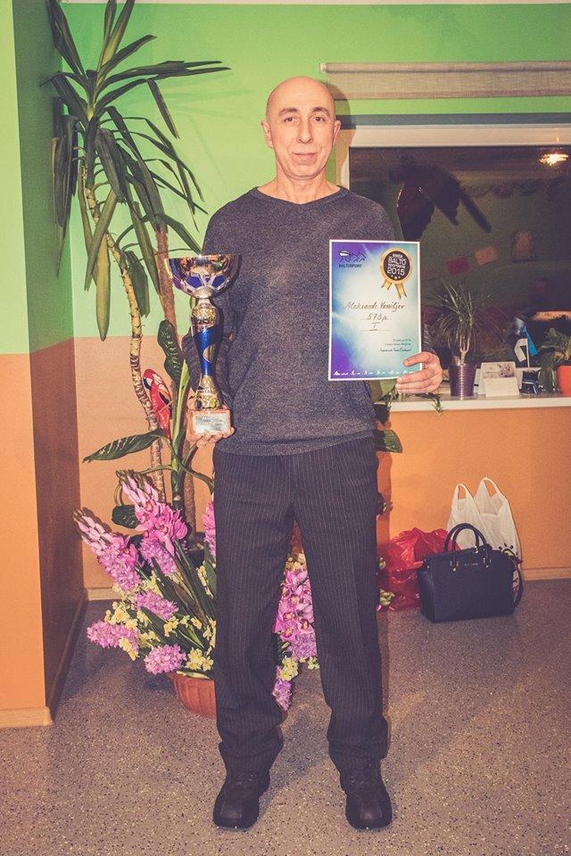 aasta baltosportlane 2015 aleksander vassiljev
