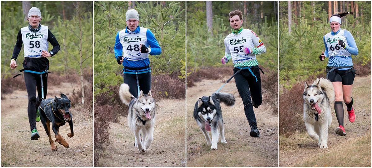Baltospordi koerakrossi võistlejad