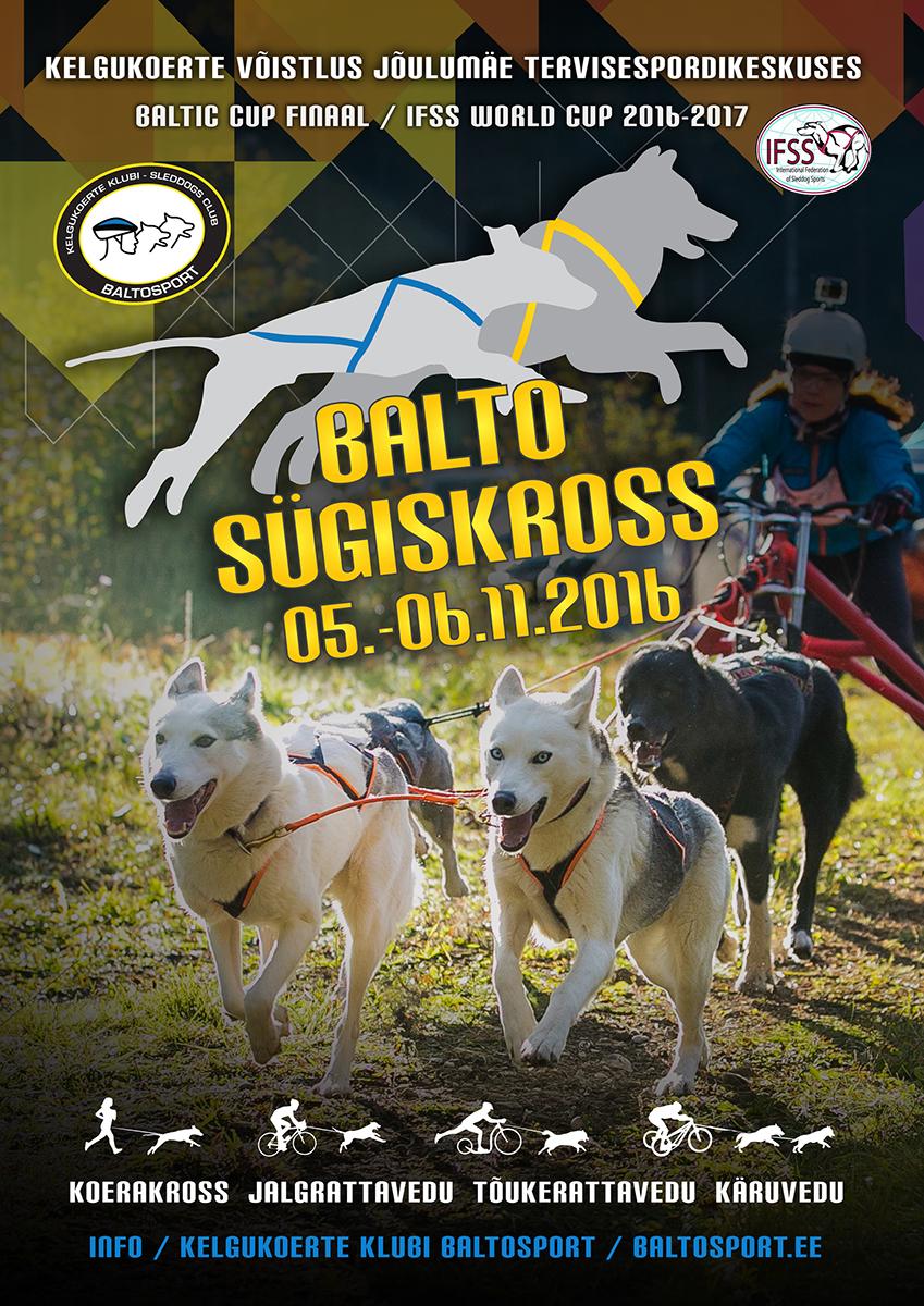 Kelgukoeraspordi võistlus Balto Sügiskross 2016