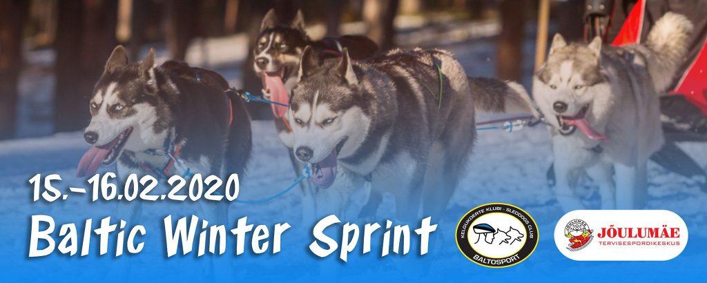 Baltic Winter Sprint 2020 talvine veokoeraspordi võistlus Jõulumäe Tervisespordikeskuses, 15.-16.veebruaril 2020.