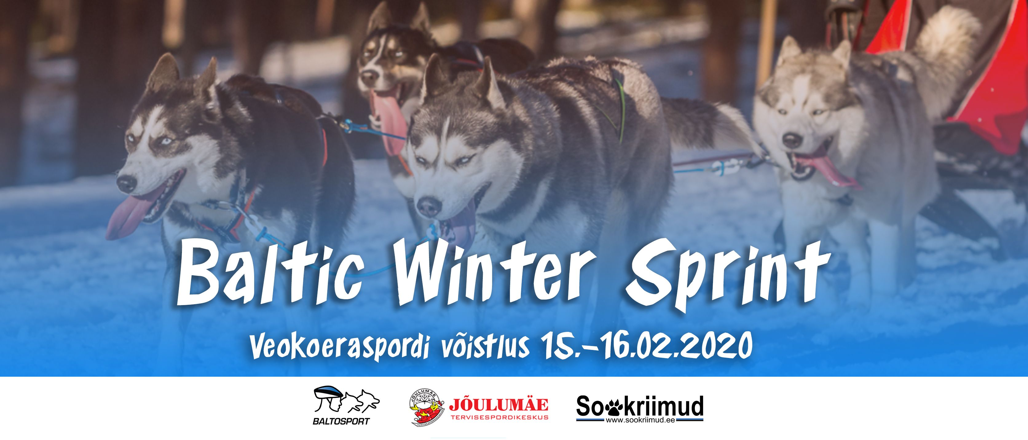 Baltic Winter Sprint 2020 veokoeraspordi võistlus Jõulumäel