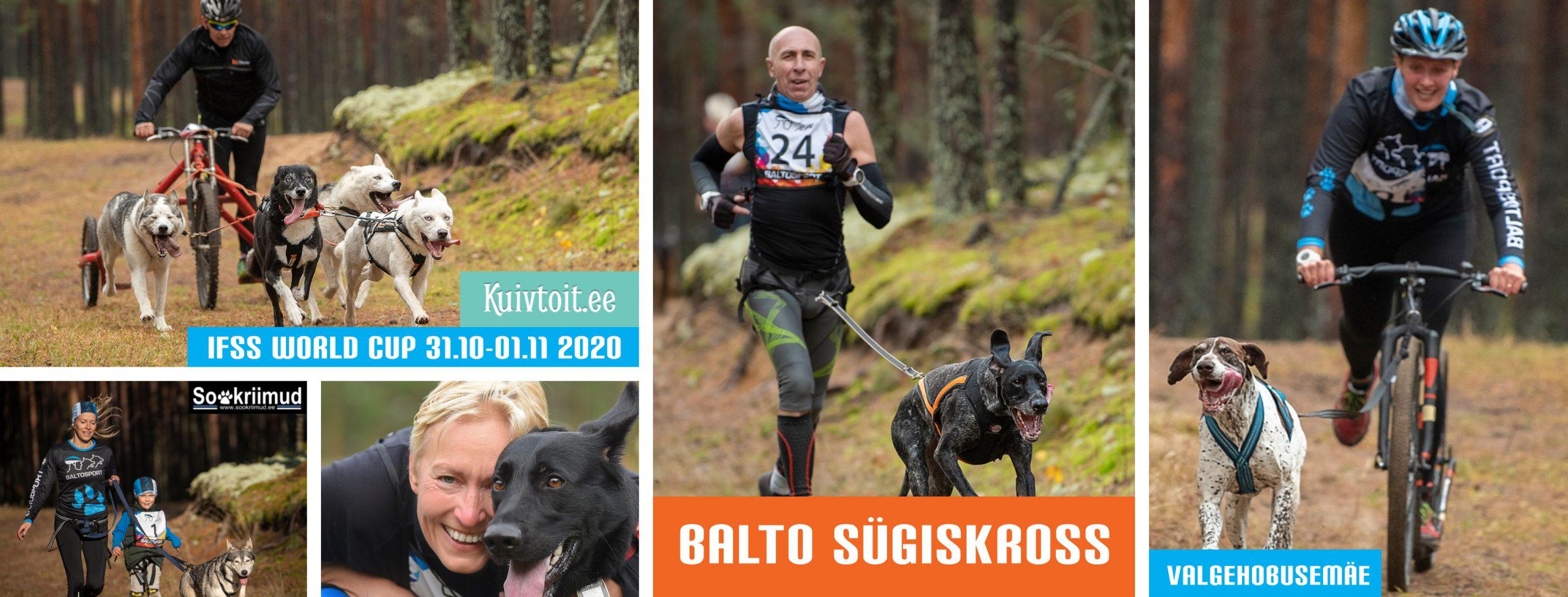 Balto Sügiskross 2020 veokoeraspordi võistlus Valgehobusemäe